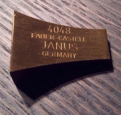 Back of Brass Faber-Castell 4048 (2)